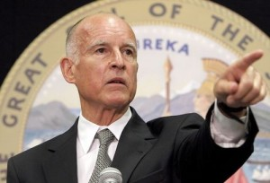California Governor Jerry Brown, who signed the law in 2012.
