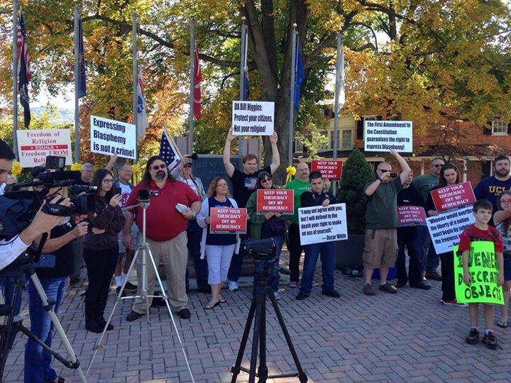 Bedford Protest