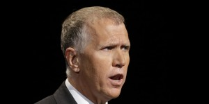 "NC House Speaker Thom Tillis, who is fighting for the ""61% of North Carolina voters"" who still hate gays. (AP)"